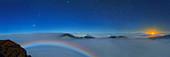Cloudscape from Haleakala National Park