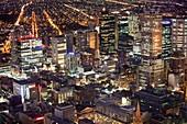 Melbourne,Australia,at night