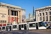 City centre tram