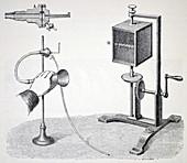 Konig's flame manometer