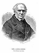 Karl Ludwig Hencke,German astronomer