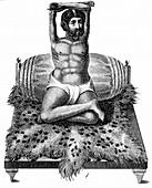 Purana Puri,a Fakir or holy man