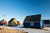 Wooden houses,Greenland