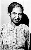 Rosa Parks,US civil rights activist