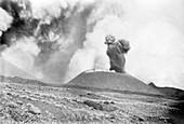 Mount Etna eruption,1892