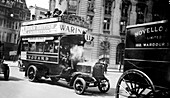 London motor bus,1910s