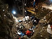 Atapuerca fossil excavation,Cueva Mayor