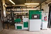 A biofuel boiler