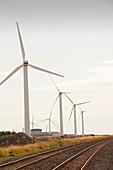 Wind farm on the outskirts of Workington