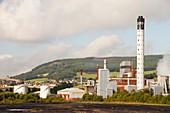 Fife power station a gas turbine