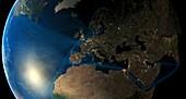 Human presence in Europe