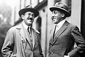 Otto Stern and Paul Scherrer