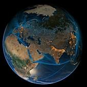 Human global presence