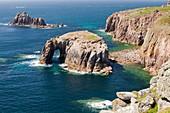 Cornish coastal scenery at Lands End,UK