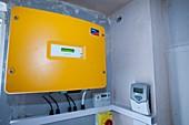 A control panel for solar voltaic