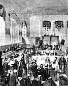 Old Bailey,London,19th C illustration