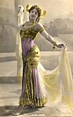 Mata Hari,Dutch exotic dancer