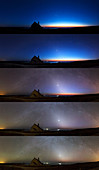 Zodiacal light,montage sequence