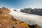 Skaftafellsjokull glacier,Iceland