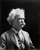 Mark Twain,US author