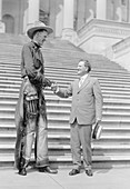 Ralph Madson and US senator,1919