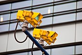 CCTV cameras for monitoring traffic