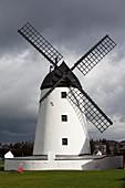 Storm damage to windmill