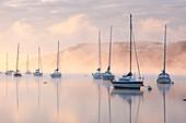 Lake Windermere,Lake District,UK