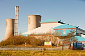 Power from waste plant