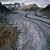 Aletsch Glacier,Valais,Switzerland