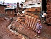 Urban slum,Kibera,Kenya