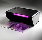 Ultraviolet banknote checker