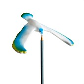 Balancing bird toy