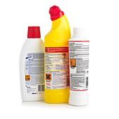 Hazardous domestic product labels