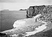 Cape Royds Antarctic exploration,1911