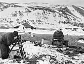 Cape Adare Antarctic exploration,1911