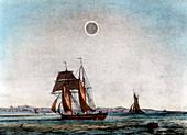 Annular eclipse of the Sun