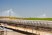 The PS20 solar thermal tower,Spain