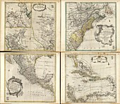 Maps of North America,1760