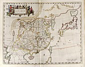 Map of China,17th century
