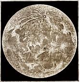Full Moon by Warren de la Rue