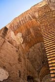 Roman Colosseum internal arch
