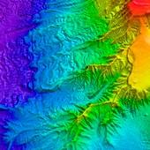Saunders Island volcano,bathymetry