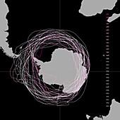 Ozone hole over 30 years