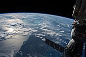 Florida coastline,ISS image
