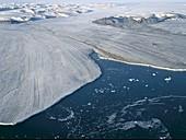Negribreen glacier,Norway