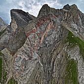 Rotspitze,the Lechtal Alps,Austria