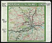 London's underground railways,1907