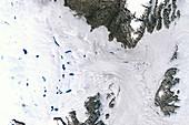 Zachariae Isstrom glacier,1999