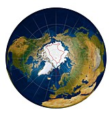 Arctic land claims,illustration